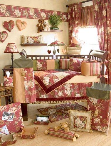 Dynasty 4 Piece Crib Bedding Set - Buy Dynasty 4 Piece Crib Bedding Set - Purchase Dynasty 4 Piece Crib Bedding Set (Home & Garden, Categories, Bedding & Bath, Bedding, Nursery Bedding, Crib Bedding, Bedding Sets)