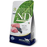 Farmina N&D Grain Free Lamb And Blueberry Adult Cat Food - 5 Kgs