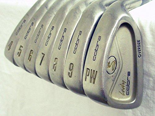 King Cobra Lady Cobra Oversize Irons Set 4-PW (Graphite LADIES) Golf Clubs