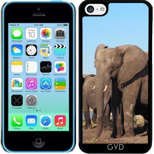 coque-pour-iphone-5c-elephant-afrique-exotique-by-wonderfuldreampicture