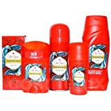 5er SET Old Spice HAWKRIDGE AfterShave+Deospray+ De
