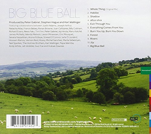 Original album cover of Big Blue Ball by Peter Gabriel