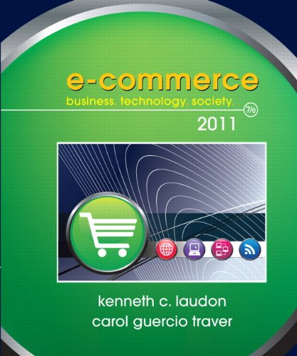 E-Commerce 2011 (7th Edition) (Pearson Custom Business Resources)
