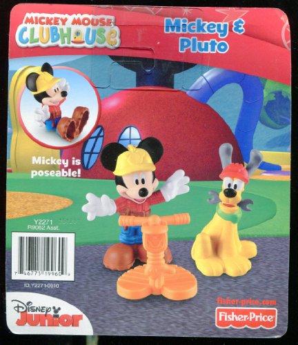 Mickey & Pluto * Disney Junior * Construction Set * Mickey Is Poseable front-1039881