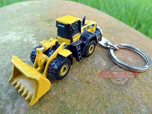KOMATSU Komatsu excavator bulldozer forklift model toy Keychain French brand UH mobile phone chain (Bulldozer Model compare prices)