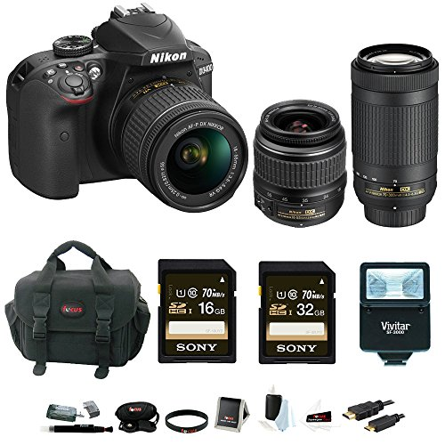 nikon-d3400-dslr-camera-with-18-55-and-70-300mm-nikkor-lenses-promotional-holiday-kit