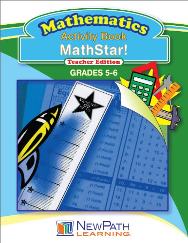 NewPath Learning Mathstar Reproducible Workbook, Grade 5-6