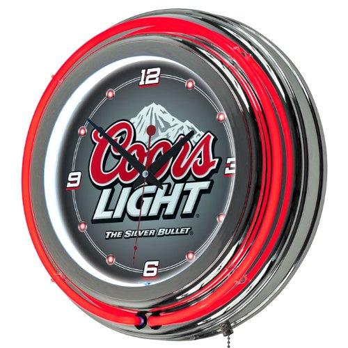 Coors Light 14 Neon Wall Clock