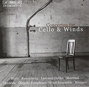 Concertos for Cello and Winds ( Baumer, Thedeen)