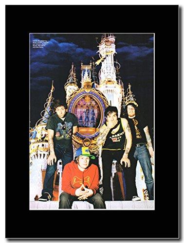 Fall Out Boy, in Disney World Magazine Promo su un supporto, colore: nero