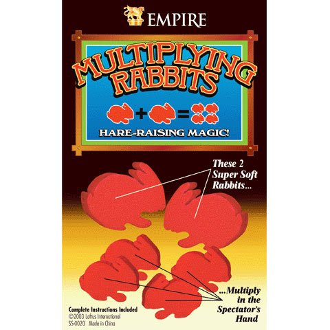 Empire Magic Multiplying Rabbits Trick