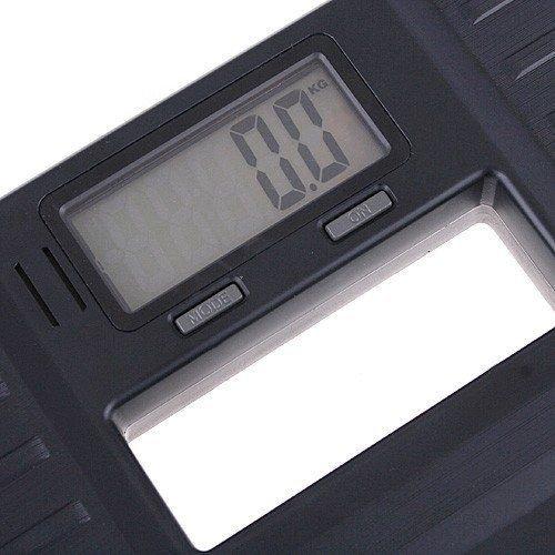 TOOGOO(R) 150KG Balance numerique electronique portable noire