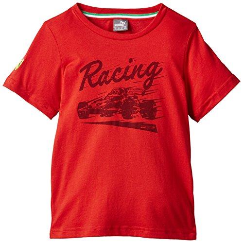 Sf Puma Jungen T-Shirt Graphic Tee 98 rot - Rosso Corsa