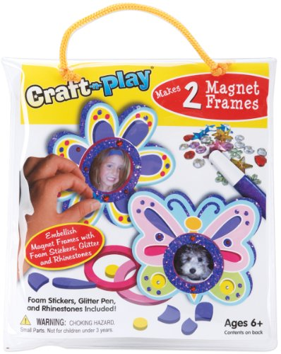 Crafty Craft-n-Play Activity Kit: Flower & Butterfly