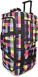 XXL Reisetasche design Dream Violett Rollenreisetasche...