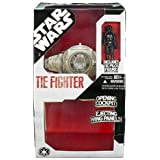 Star Wars Large White Tie Fighter with Pilot Figure