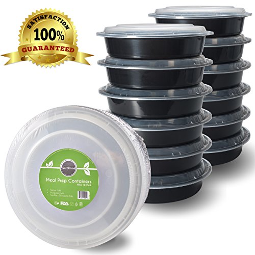 Cook your freezer meals from frozen - by freezing them in round containers!