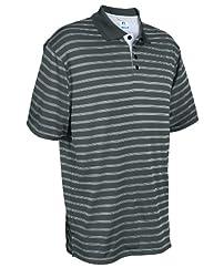 Dri-Power® Striped Polo