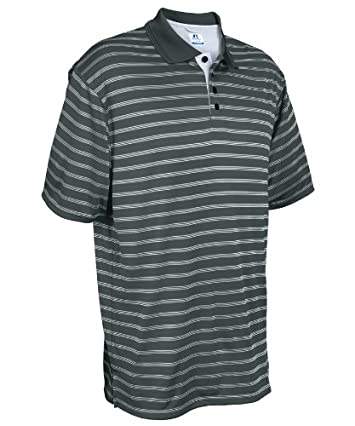 Russell Athletic Men's Dri-Power® Striped Polo