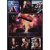 Judas Priest Concert Collage 80s Music Poster Print