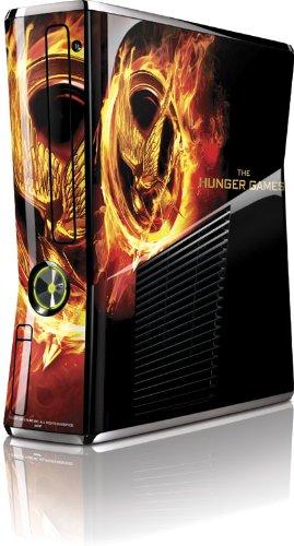 Skinit The Hunger Games Mockingjay Vinyl Skin for Microsoft Xbox 360 Slim (2010)