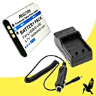 Halcyon 1500 mAH Lithium Ion Replacement Battery and Charger Kit for Olympus LI50B Battery and Olympus Stylus 1010, Stylus 1020, Stylus 1030 SW, Stylus 9000, Stylus 9010, Stylus Tough 6000, Stylus Tough 6010, Stylus Tough 6020, Stylus Tough 8000, Stylus Tough 8010, Stylus Tough TG-610, Tough TG-620, Tough TG-630, Tough TG-820 iHS, Tough TG-830 iHS, TG-810, SP800UZ, SP810UZ, SZ-10, SZ-12, SZ-15, SZ-16, SZ-20, SZ-30MR iHS, SZ-31MR, VR-320, VR-340, VR-350, VR-360, VR-370, Olympus XZ-1 Digital Cameras