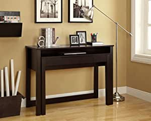 Monarch Specialties Length Space Saver Nesting Desk, 48-Inch, Cappuccino