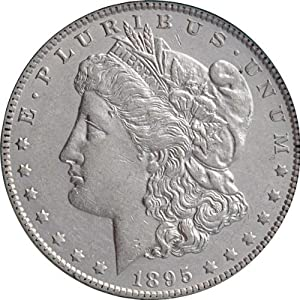 1895 O Morgan Silver Dollar MS 65