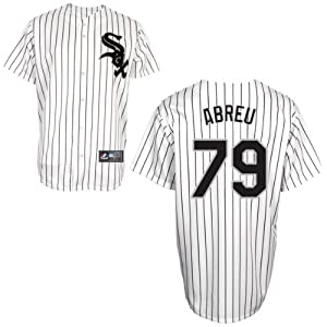 Jose Abreu Chicago White Sox Home Replica Jersey by Majestic by Majestic