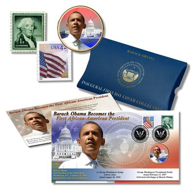Barack Obama Inauguration First Day Cover