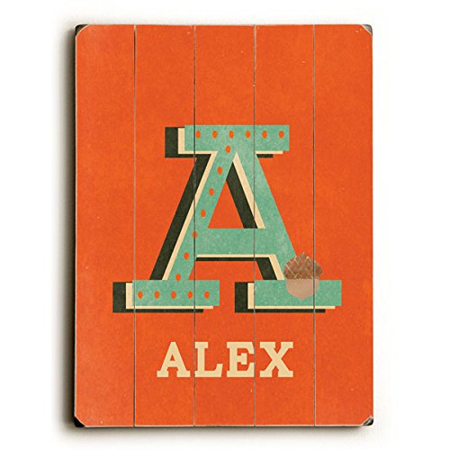 Personalized Alphabet Wall Art front-1031649