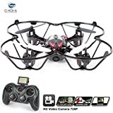 H6C Quadcopter RC Helicopter Drones - HD 2MP 720p Aerial Photo Video, Headless Mode, 360 Stunt, 6 Axis Gyroscope, 2.4Ghz Radio Remote Control