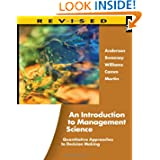 An Introduction to Management Science: Quantitative Approaches to Decision Making, Revised (with Microsoft Project...