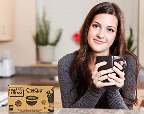 The Organic Coffee Co. OneCup, Gorilla Decaf
