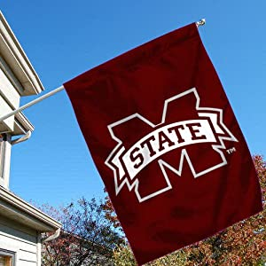 Buy Mississippi State Bulldogs Banner House Flag by College Flags and Banners Co.