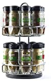 McCormick Chrome Gourmet Spice Rack (16 spices) (Assorted)