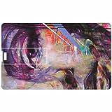 Girl Face Credit Card 8GB Pen Drive - B011EBFX7I