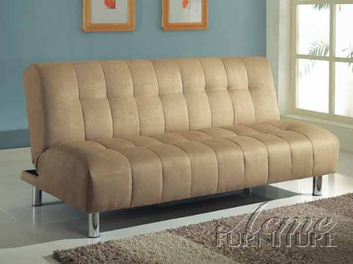 Acme Furniture 05635 Sylvia Beige Microfiber Adjustable