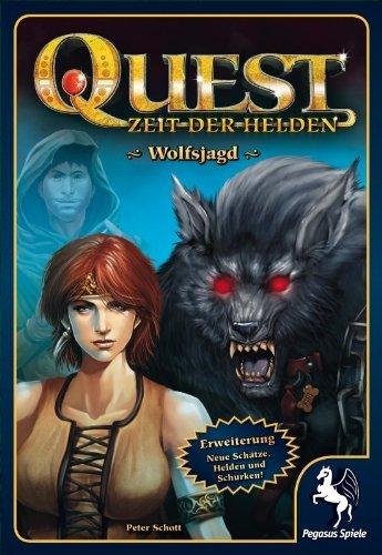 Pegasus Spiele 65015G - Quest: Wolfsjagd by Pegasus Spiele