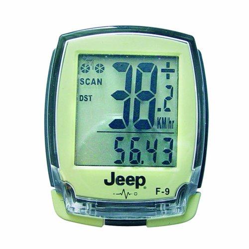 JEEP 0869 - Computer per bicicletta con 20 funzioni, trasmissione dati wireless