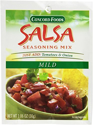 Concord Salsa Mix Mild - 3 of 1.06 oz pouches by Concord Foods (Concord Salsa compare prices)