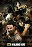 Poster The Walking Dead - Collage - preiswertes Plakat, XXL Wandposter