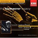 Mendelssohn: Symphony No. 3 - Schubert: Symphony No. 8