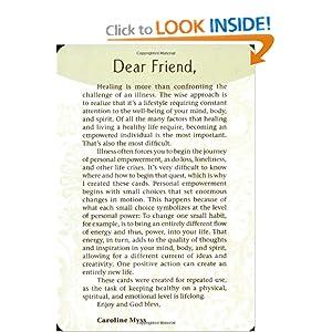 Wisdom for Healing Cards Caroline Myss
