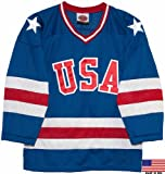 1980 USA Olympic Miracle on Ice Hockey Jersey (Youth Sizes)
