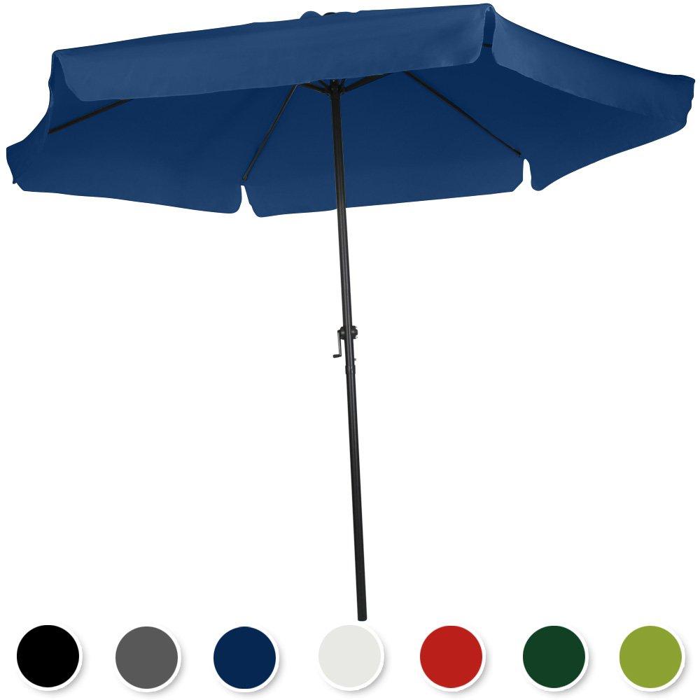 Ampelschirm Sonnenschirm mit Krempe Sonnenschutz Ø 250cm Farbwahl online kaufen