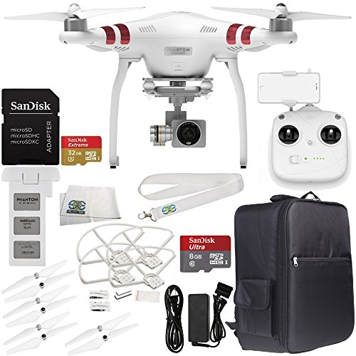 DJI Phantom 3 Standard with 2.7K Camera and 3-Axis Gimbal & Manufact