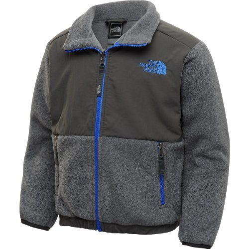 The North Face The North Face Boys Denali Jacket Charcoal Grey Heather XS