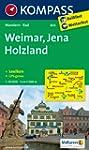 Weimar/ Jena/ Holzland: Wanderkarte m...