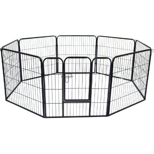 Outsunny - Recinto per cuccioli - Recinzione per animali - dimensioni: 80x80cm